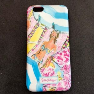 Lilly Pulitzer I Phone case for  6/6s phone.